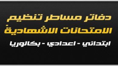 Photo of الاجراءات والتدابير الخاصة بتنظيم الامتحانات الاشهادية 2019